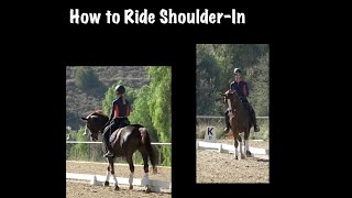 How to Ride Shoulder-In