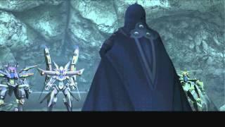 Xenosaga III HD Cutscene 093 - Blue Testament (Floating Landmass Cave) - JAPANESE - SWIMSUIT MODE