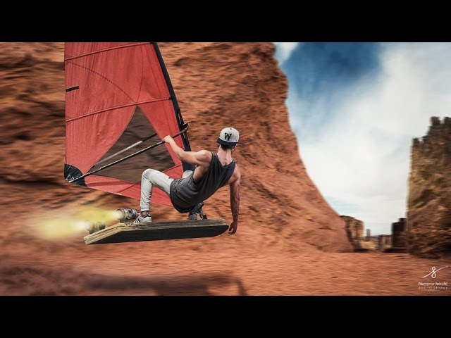 Windsurfing | Photo Manipulation Tutorial