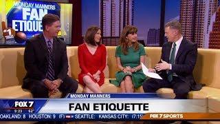 Sports Fan Etiquette | Etiquette Expert Diane Gottsman