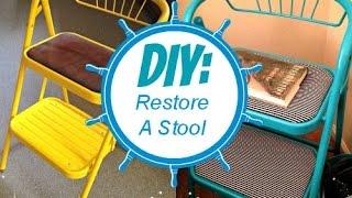 Diy: Restoring A Stool