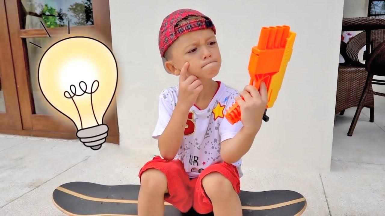 Марк и челлендж в детские игры