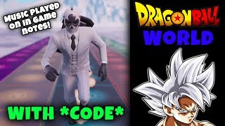 Drachenballmusik in Fortnite! *MIT CODE* (Dragon Ball World - Themenlieder)