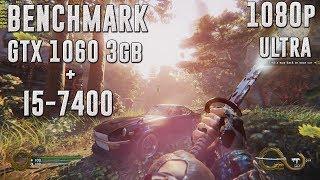 Shadow Warrior 2 | GTX 1060 3gb + I5-7400 | 1080p | Benchmark