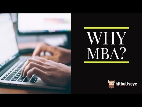 Why MBA?