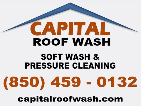 Capital Roof Wash - Soft Wash - Tallahassee, Florida - DJI Phantom Drone