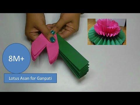 Lotus flower/ Lotus Asan for Ganpati Decoratios