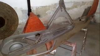 Renovace rotační sekačky ŽTR 165.wmv