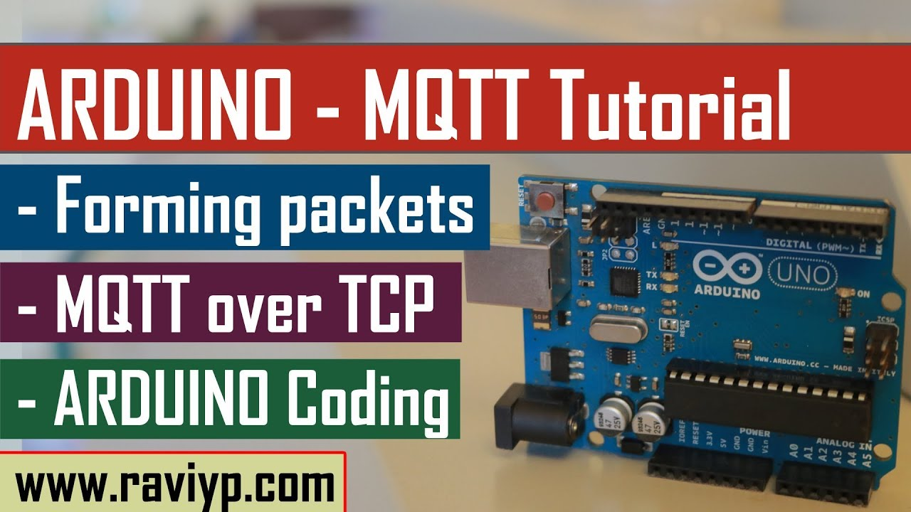 Arduino MQTT Tutorial - Coding & Live Demo using SIM900