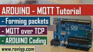 Arduino MQTT Tutorial - Coding & Live Demo using SIM900 Video