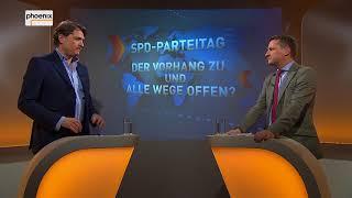 """Augstein und Blome vom 08.12.2017:  """"SPD-PARTEITAG: DER VORHANG ZU UND ALLE WEGE OFFEN?"""""""