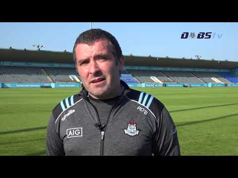 Dublin U20s Hurling Manager Paul O'Brien chats to DubsTV ahead of 2020 Leinster Final v Galway