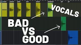 Good vs Bad - Vocal Recording
