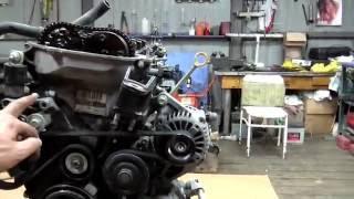 Разбор двигателя 1zz-fe для ремонта