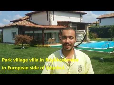 Beautiful Park village villa For Sale in Istanbul Turkey.