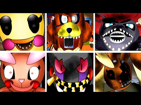 Five Nights at Pokémon's: All Jumpscares