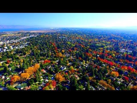 725 Center Drive - Palo Alto, CA -  by Douglas Thron drone real estate videos