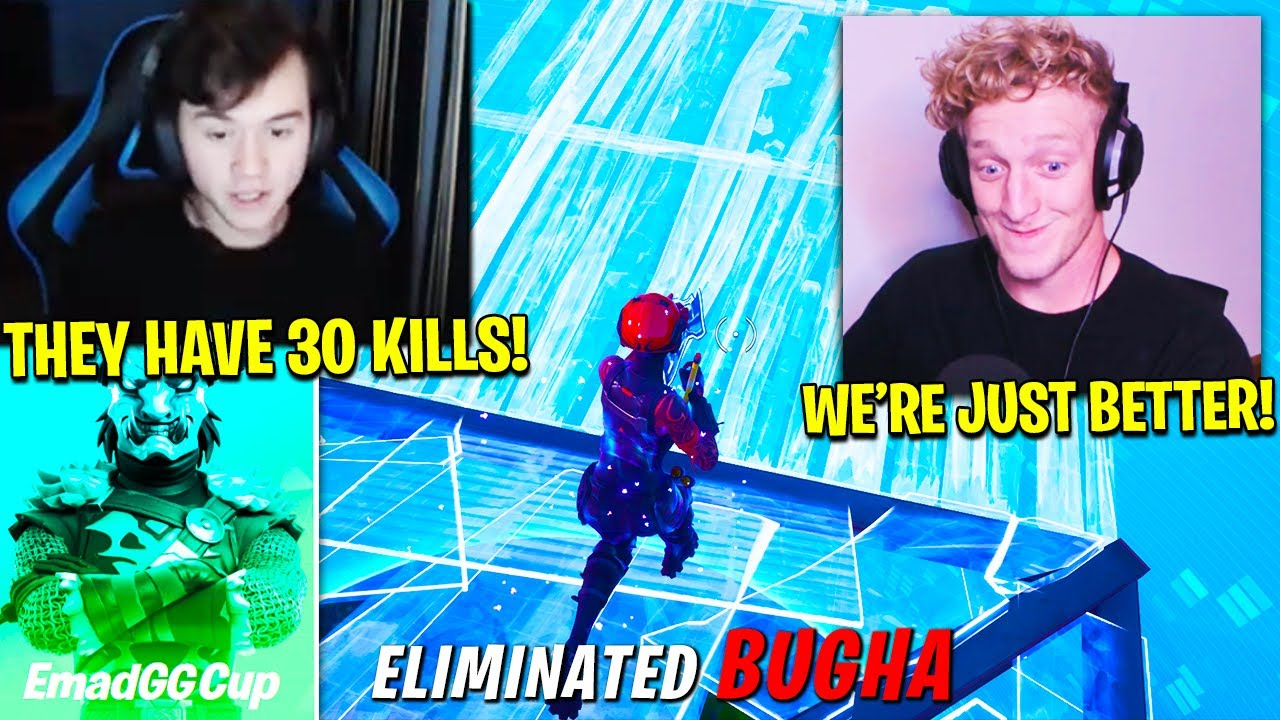 TFUE & SCOPED *W-KEY* PROS in EMADGG CUP.. THIS HAPPENED! (Fortnite Season 3 Chapter 2 Trios)