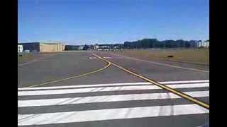 Take off from Bradley International Airport
