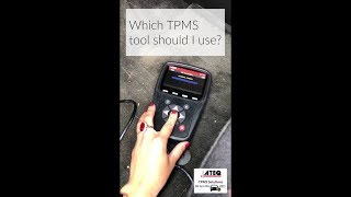Selling TPMS: Which TPMS tool is right for my customer?
