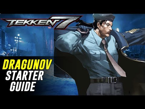 [TEKKEN 7] 3-Minute DRAGUNOV Starter Guide! | Character Rundown【鉄拳7】