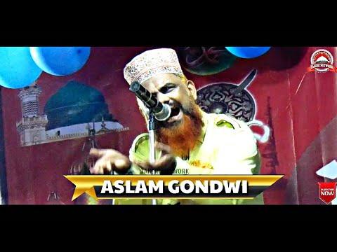 Aslam gondvi(mumbai) new naat 2018 || falak se ake zamin pe yeh kaam karte hain || AT-KHIRPADA,SORO