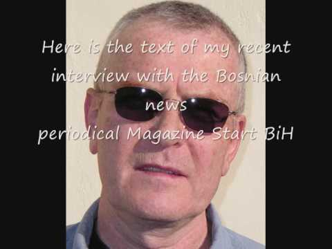 Pat Condell interview with Bosnian newspaper