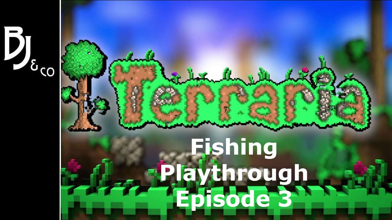 Terraria Fishing Playthrough Ep 3 The Hunt For The