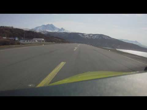 Nice day flying B200 Narvik