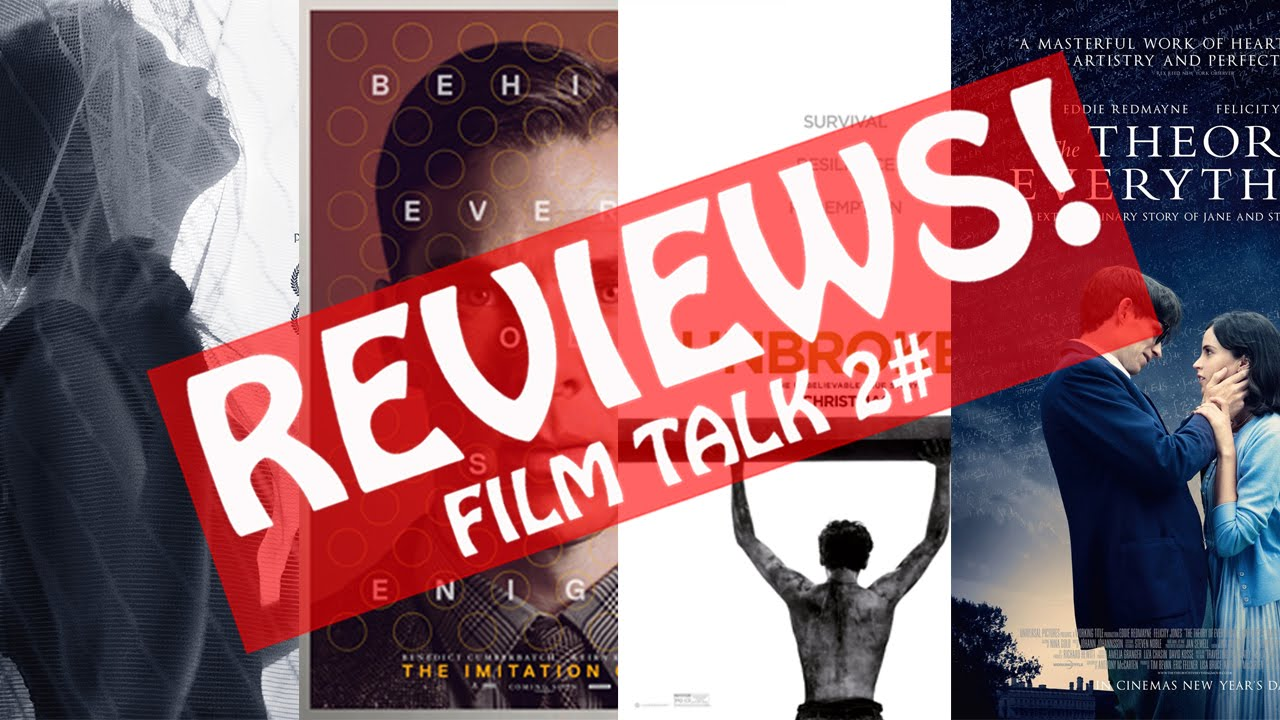 Ida, Imitation Game, Unbroken & Theory of Everything Reviews