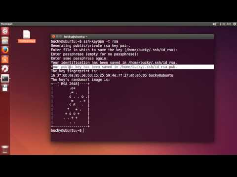 Linux Tutorial for Beginners - 15 - SSH Key Authentication