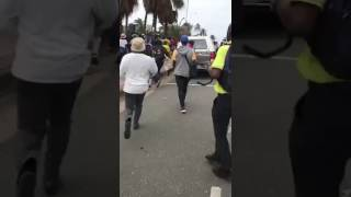 Police clash with protesters in Durban