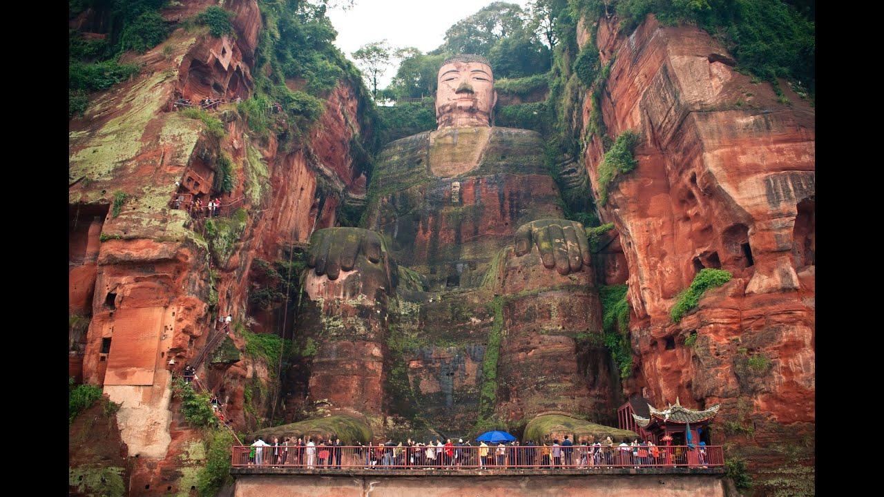 Leshan China  city images : The Leshan Giant Buddha. Chinese Massive Stone Statue: Who Made It ...