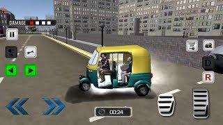Modern Auto Tuk Tuk Rickshaw game || Indian Auto Rickshaw game to play - Bike Games Rickshaw2018