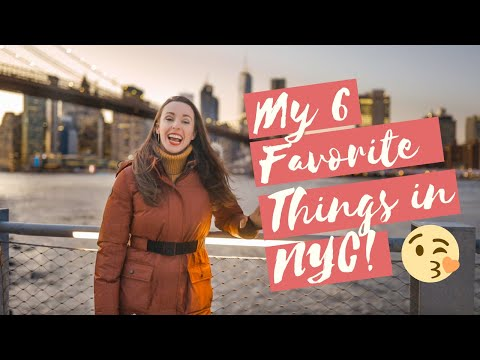 My 6 FAVORITE Things To Do In New York