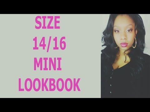 Mini Lookbook size 1416  The curvy woman