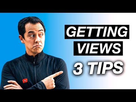 Getting More Views on your Videos- 3 Tips on how to do it!