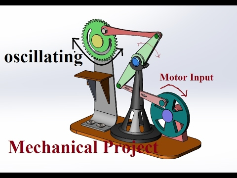 Beam Engine Powered Circular Sawing Machine-Mini Mechanical Project
