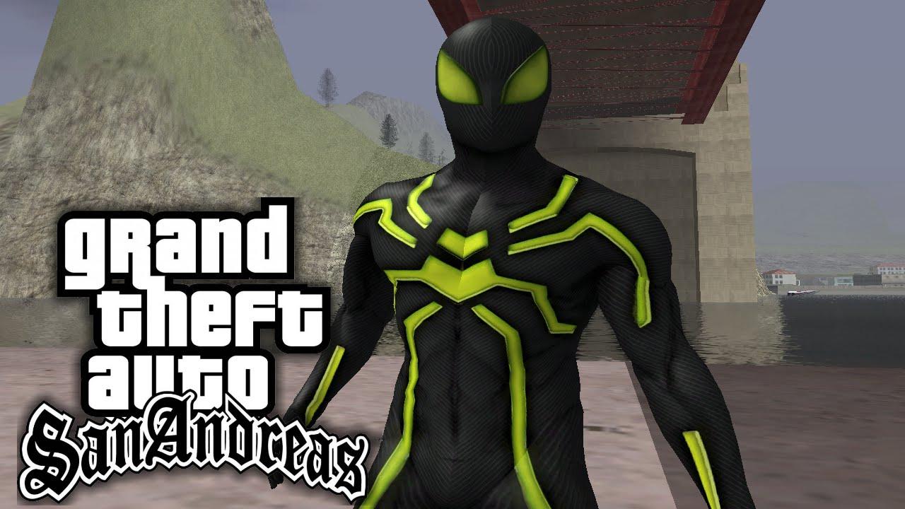 Gta San Andreas Spiderman Mod