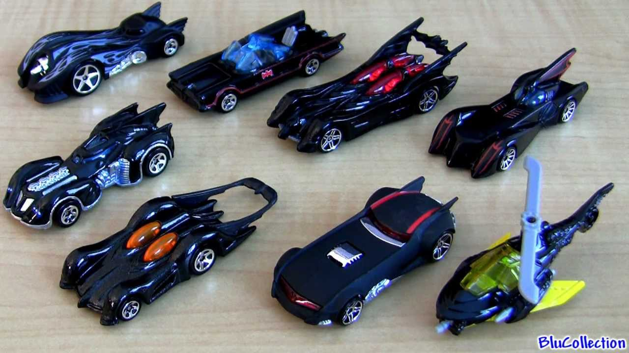 2012 batmobile complete set hot wheels from walmart bane batman joker action guide book youtube - Rare Hot Wheels Cars 2013