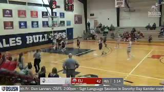 DeSales Women's Basketball Behind the Back - MAC Play of the Week