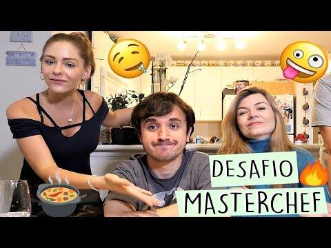 DESAFIO MASTERCHEF feat Leon Nilce e Jeff Feng  Valentina Schulz