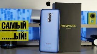 Обзор POCOPHONE F1: лучший до 300$? Троттлинг, нагрев и сравнение F1 c OnePlus 6 и Galaxy S9+
