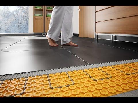 Comment placer le système de plancher chauffant Schluter® DITRA HEAT