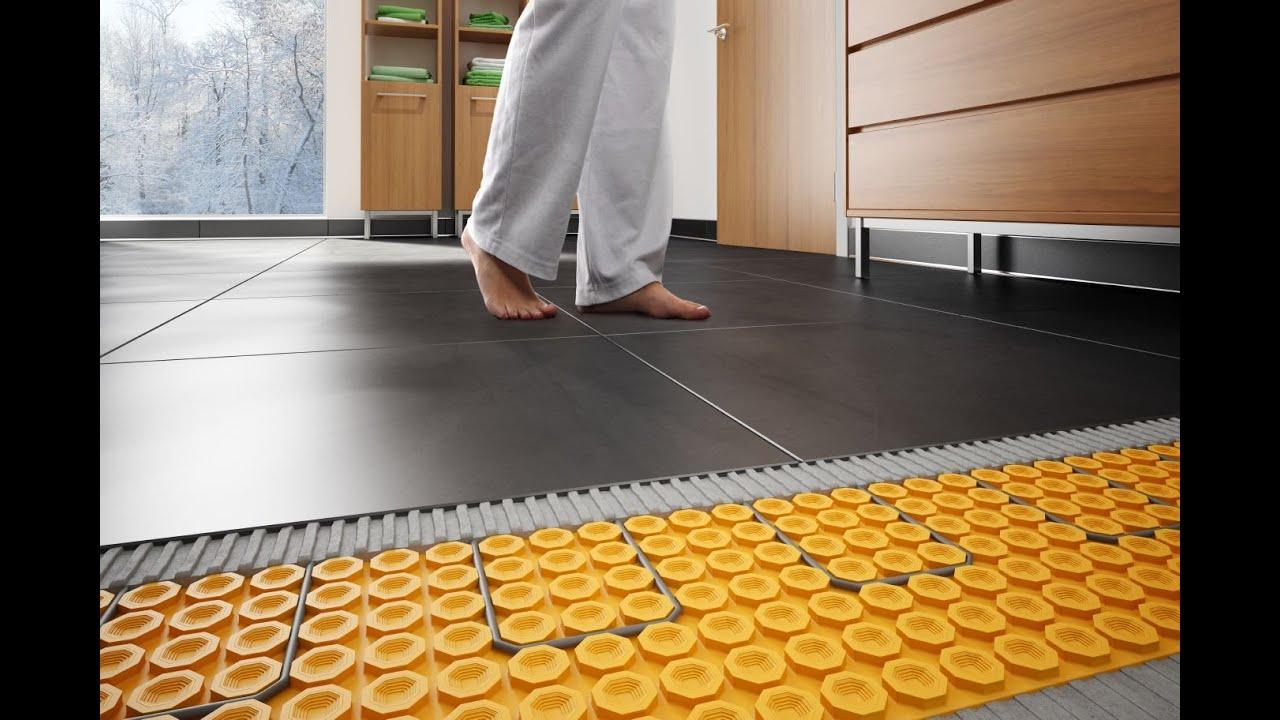 comment placer le systeme de plancher chauffant schluter ditra heat