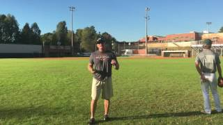 Outfield Sinking Line Drive - Diving Drill