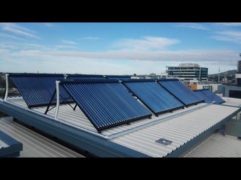Evacuated tube solar hot water heater, Introduction of Sunrain solar (jenkin@sunrain.com)