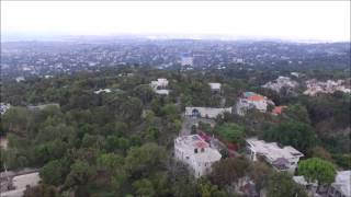 DJI Drone over Port au Prince - the remote office