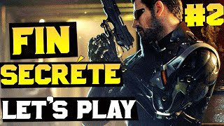 LA FIN SECRÈTE, DEUS EX MANKIND DIVIDED ! Let's Play 2/2 ! Skyyart FR