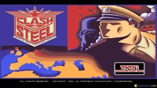 Clash of Steel gameplay (PC Game, 1993)